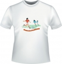 Damenfussball T-Shirt