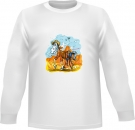 Westernreiten Sweat-Shirt